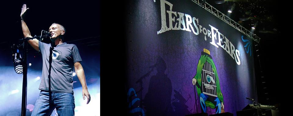 Tears for Fears Backdrop