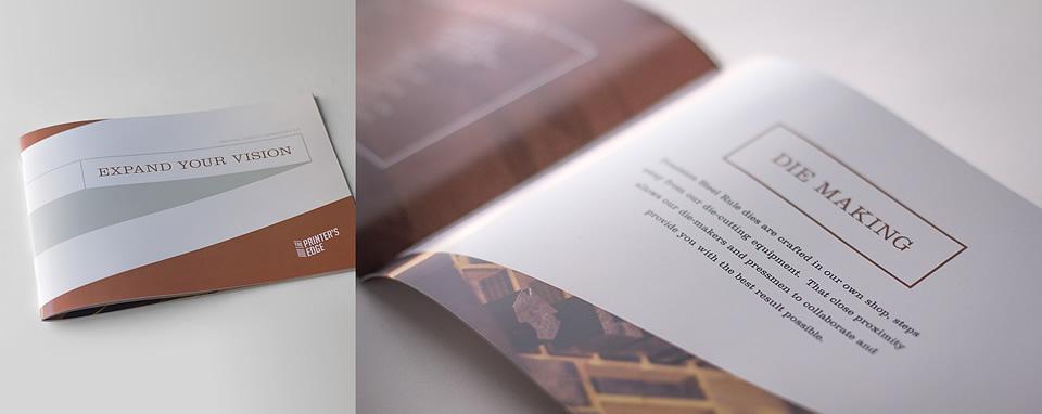 The Printer's Edge Capabilities Brochure