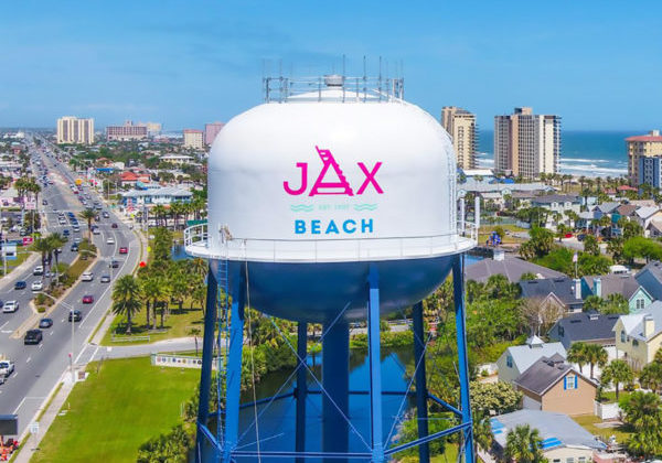 Jax Beach Water Tower
